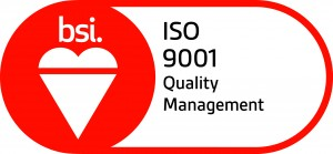 BSI Assurance Mark ISO 9001 Red